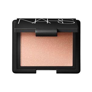 NARS satellite of love shimmer highlighting blush